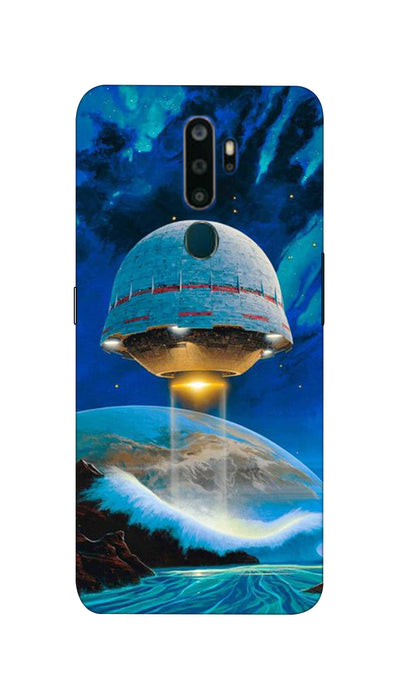 Science Art Hard Case For Oppo A5 ( 2020 )