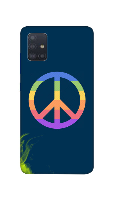 Colourfully Circle Hard Case For Samsung A51
