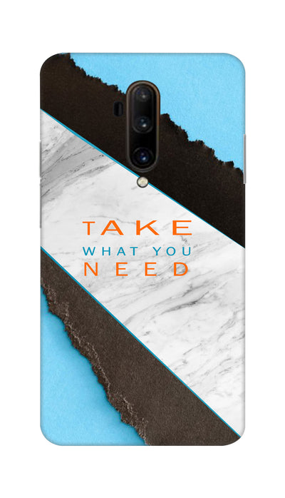 Take with you need Hard Case For OnePlus 7T Pro