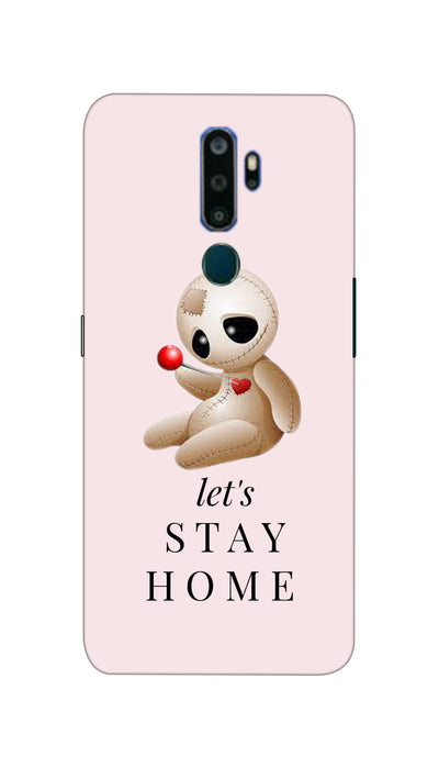 Let`s Stay Design Hard Case For Oppo A5 ( 2020 )