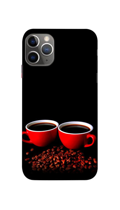 Black Coffee Mug  Hard Case For Apple iPhone 11 Pro
