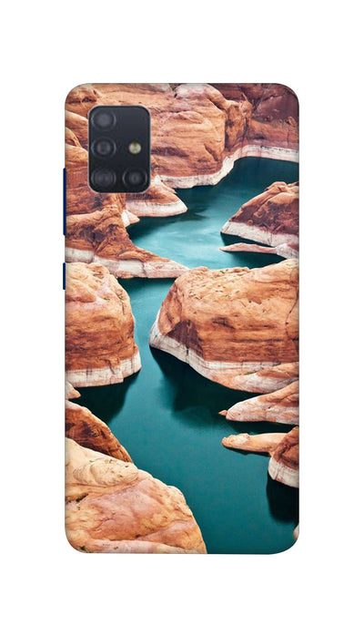 Watter Fall Hard Case For Samsung A51