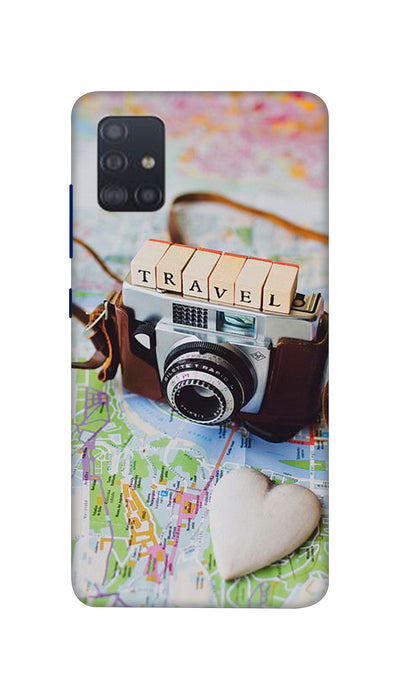Travel Camera Hard Case For Samsung A51