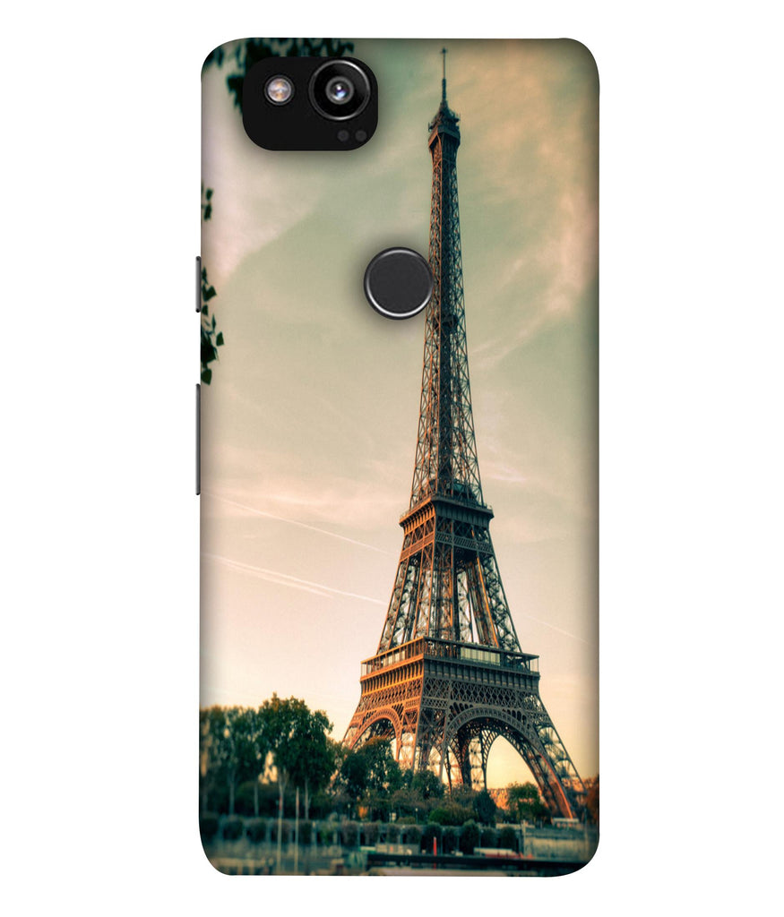 GooglePixel2XL Affil Tower Ligtening View Back Cover