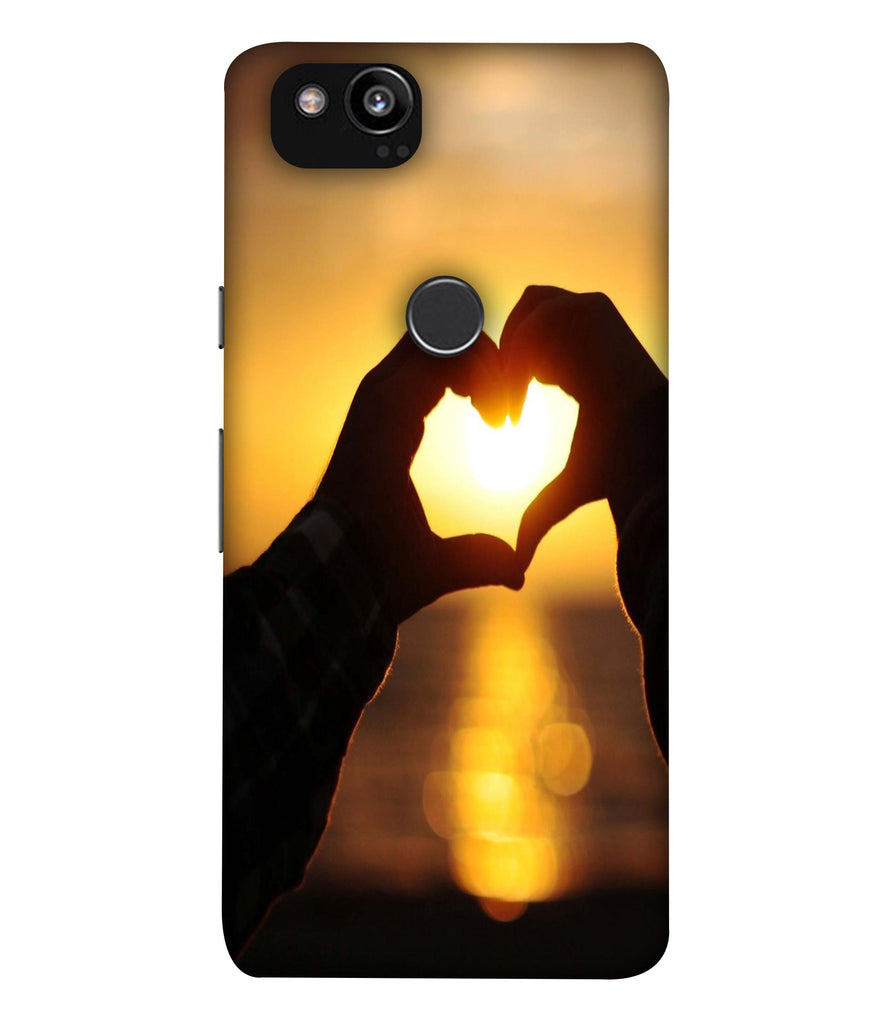 GooglePixel2XL Love@Sunset Designed Back Cover