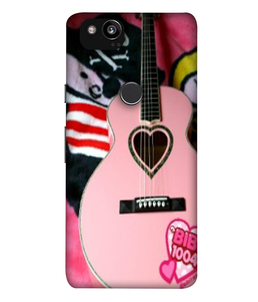 GooglePixel2XL Guitar@Girls Designed Back Cover