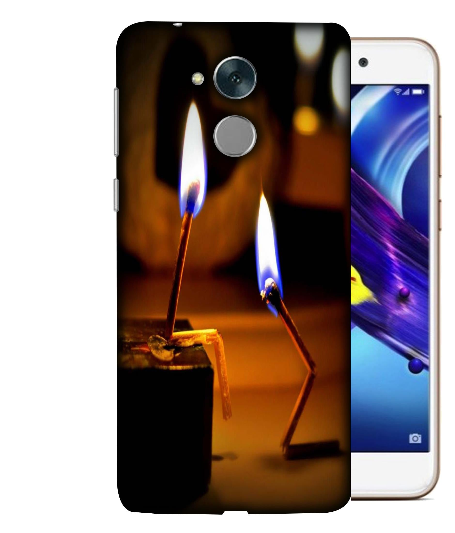 Honor6CPro Lighted Sticks Designed Back Cover