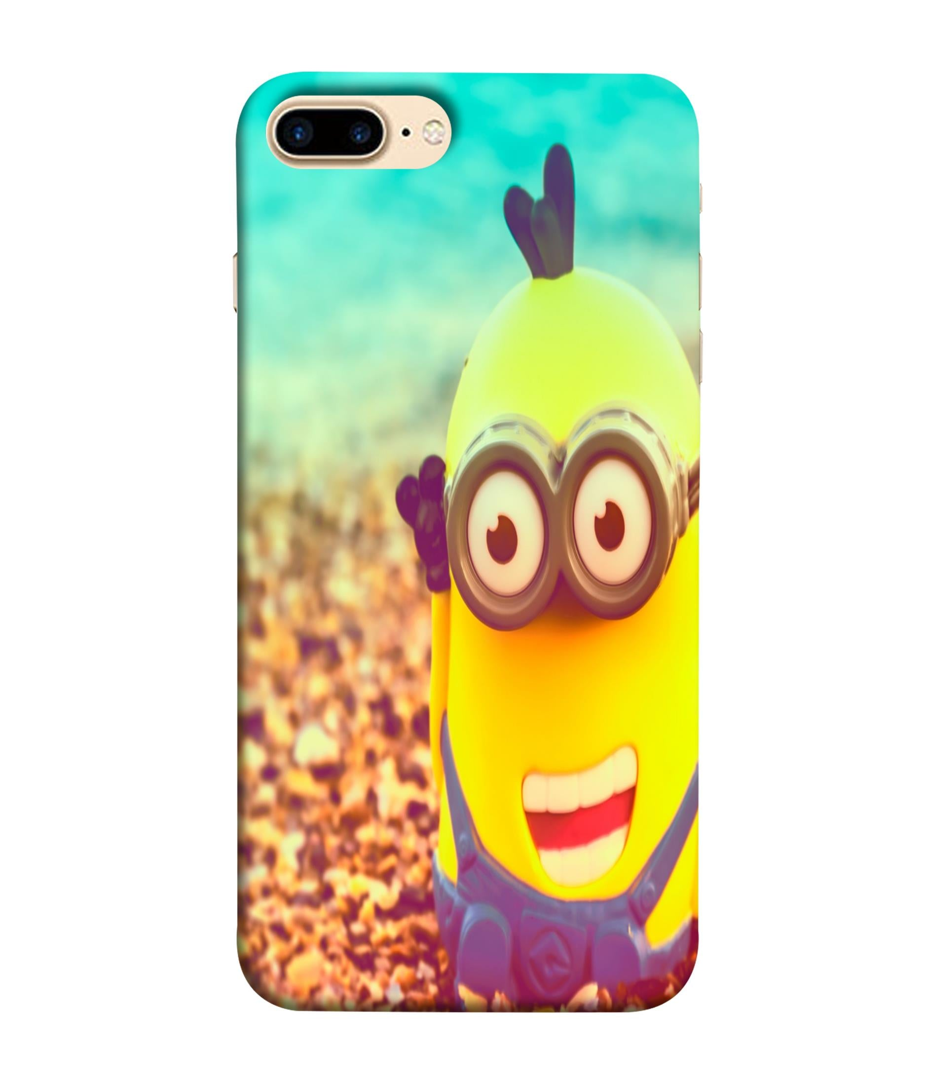 iPhone7 Plus  Minions Giggling Designed Back Cover