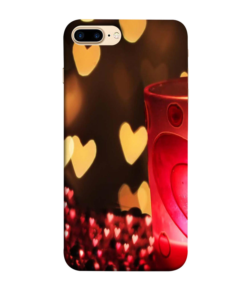 iPhone7 Plus  Candle Night Love Designed Back Cover