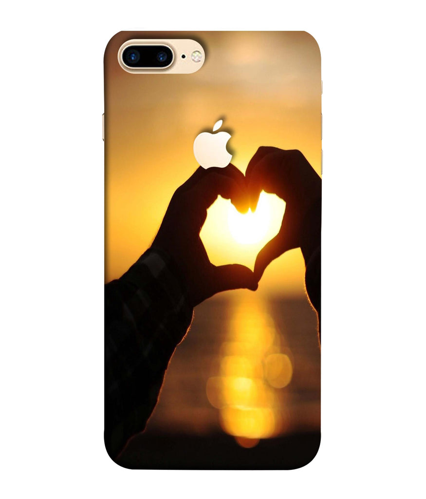 iPhone7 Plus Love Bonds Designed Back Cover Logo View