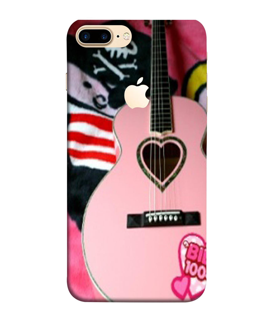 iPhone7 Plus Guitar Lovers Designed Back Cover Logo View