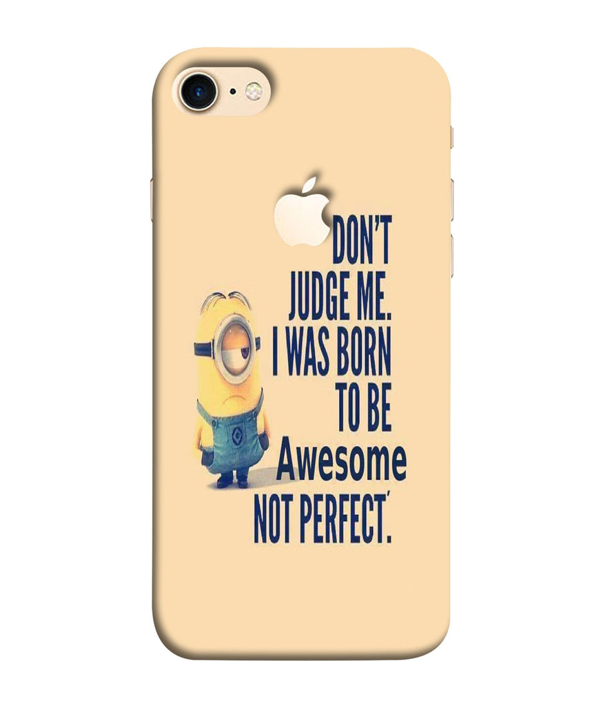 iPhone8  Minions Quoted Phone Case