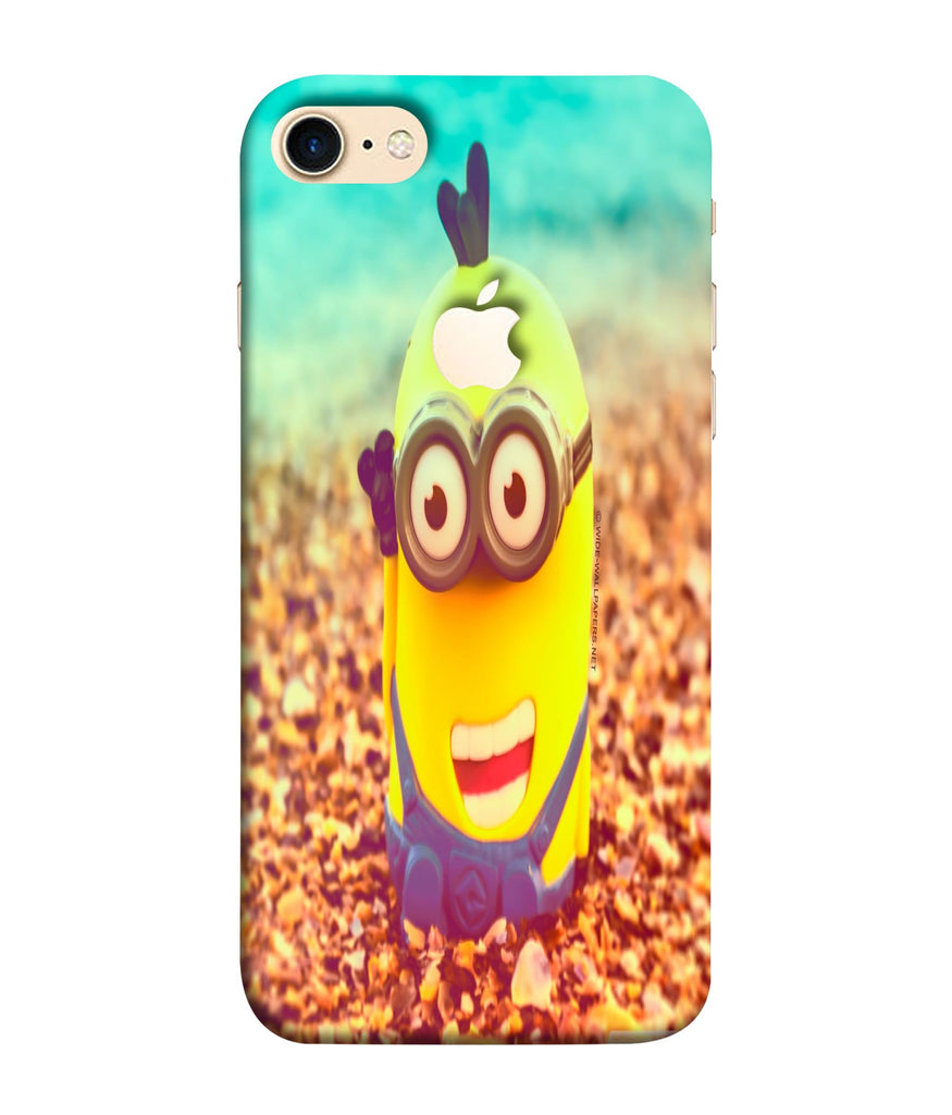 iPhone8 Minion Wall Designed Phone Case