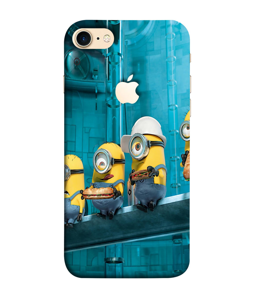iPhone8 Minions Wall Designed Phone Case