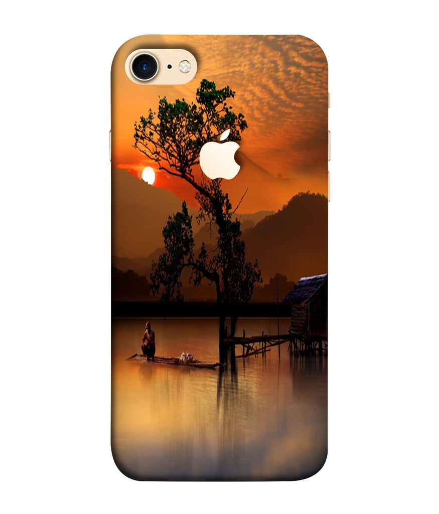 iPhone8 Sunset View Printed Phone Case