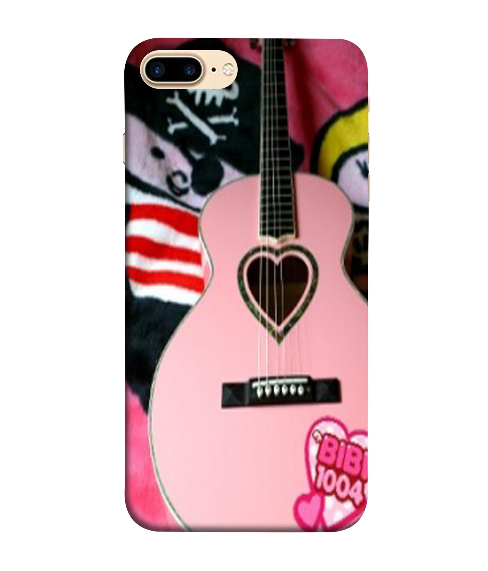 iPhone8 Plus Guitar Lovers Designed Back Cover