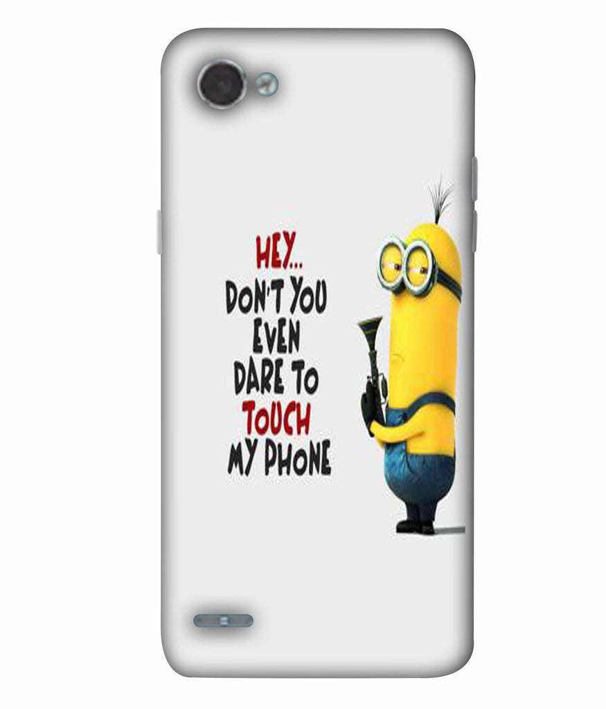 LGQ6  Minions Quoted Designed Back Cover