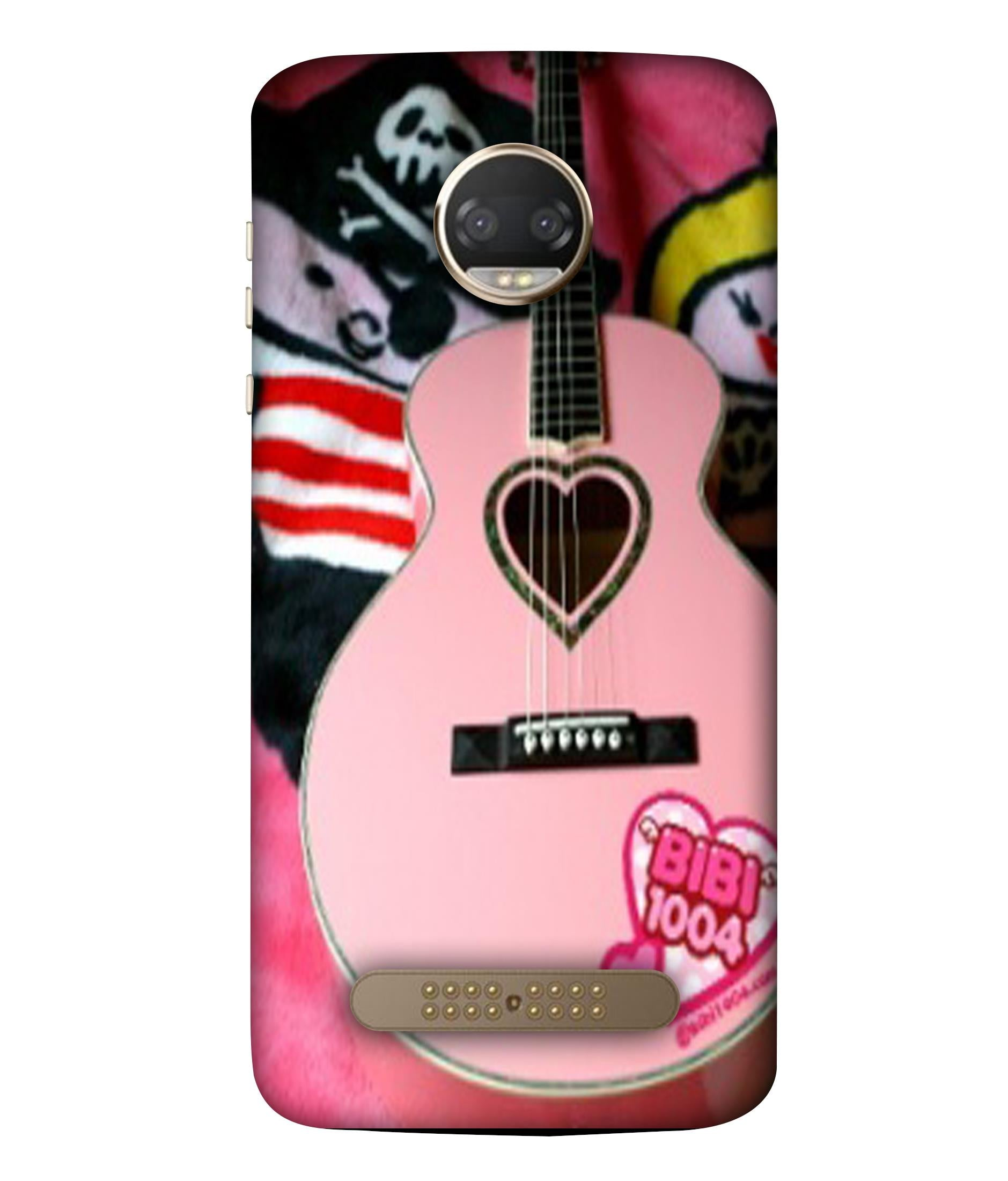 MOTOX4 Guitar Lovers Designeed Back Cover