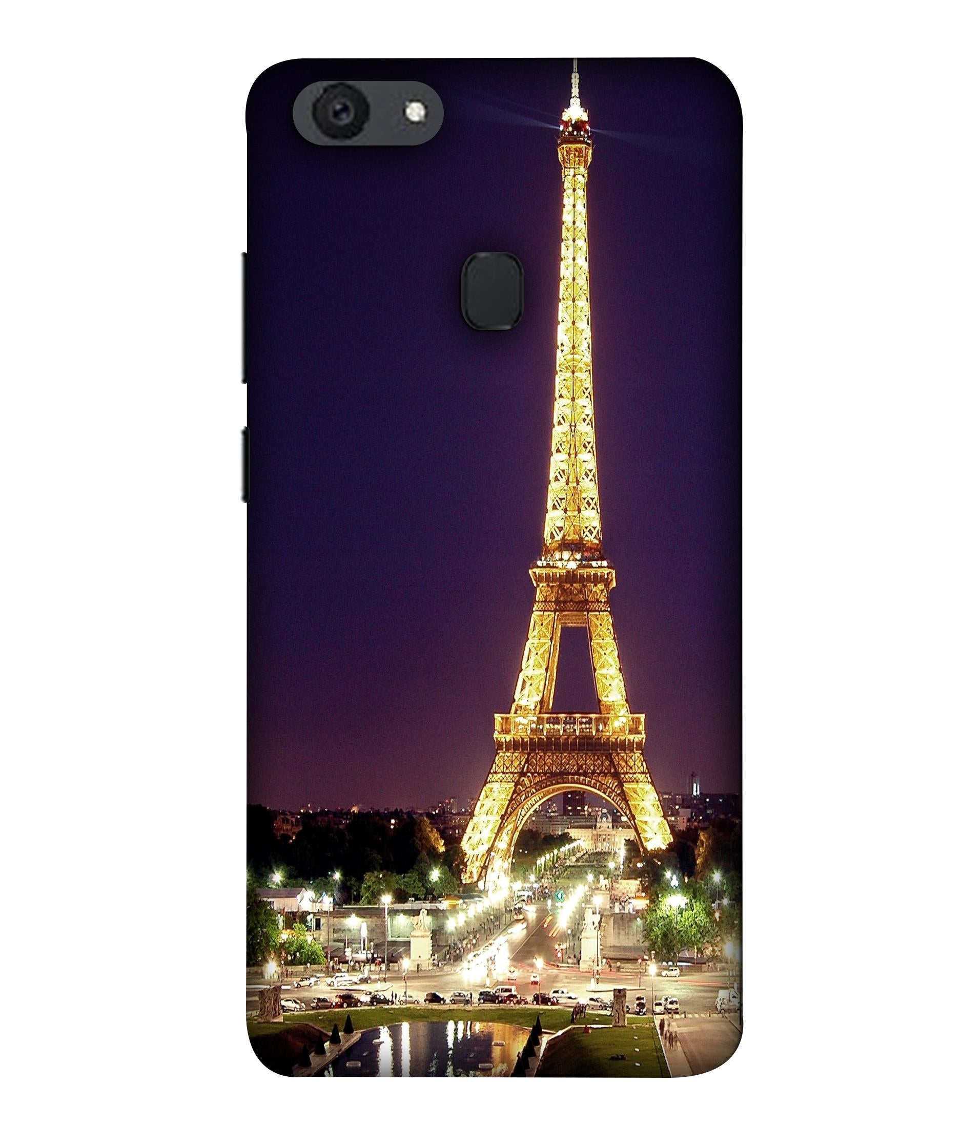 OPPOF5 Affill Tower Cityligh Designed Back Cover