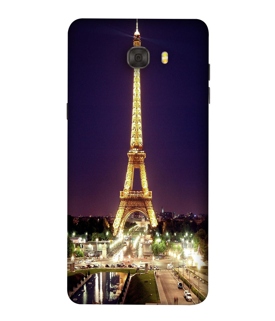 SAMSUNGC7PRO Affill Tower Cityligh Designed Back Cover