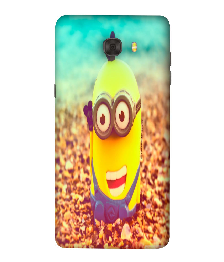 SAMSUNGC7PRO  Minions Giggling Designed Back Cover