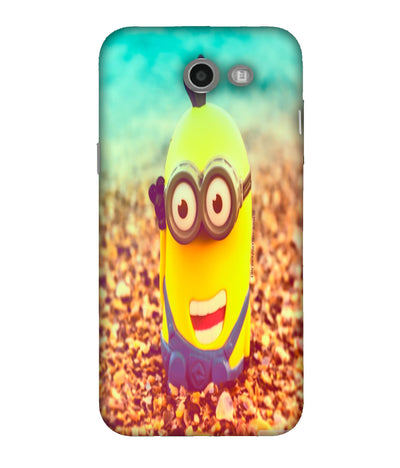 SAMSUNGJ7  Minions Giggling Designed Back Cover