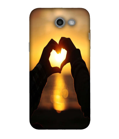 SAMSUNGJ7 Love Bonds Designed Back Cover
