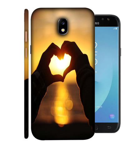 SAMSUNGJ7PLUS Love Bonds Designed Back Cover