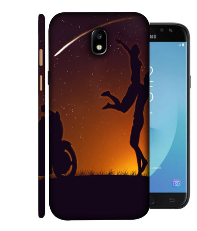 SAMSUNGJ7PLUS Couple's Dream Designed Back Cover