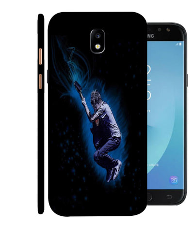 SAMSUNGJ7PLUS Premium Styled Guitar Designed Back Cover