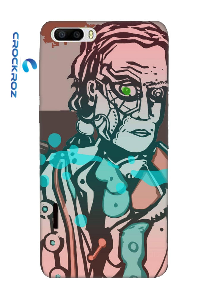 Honor7C Suspicious man Designed Back Cover