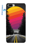 Honor7C Lonely roads Designed Back Cover