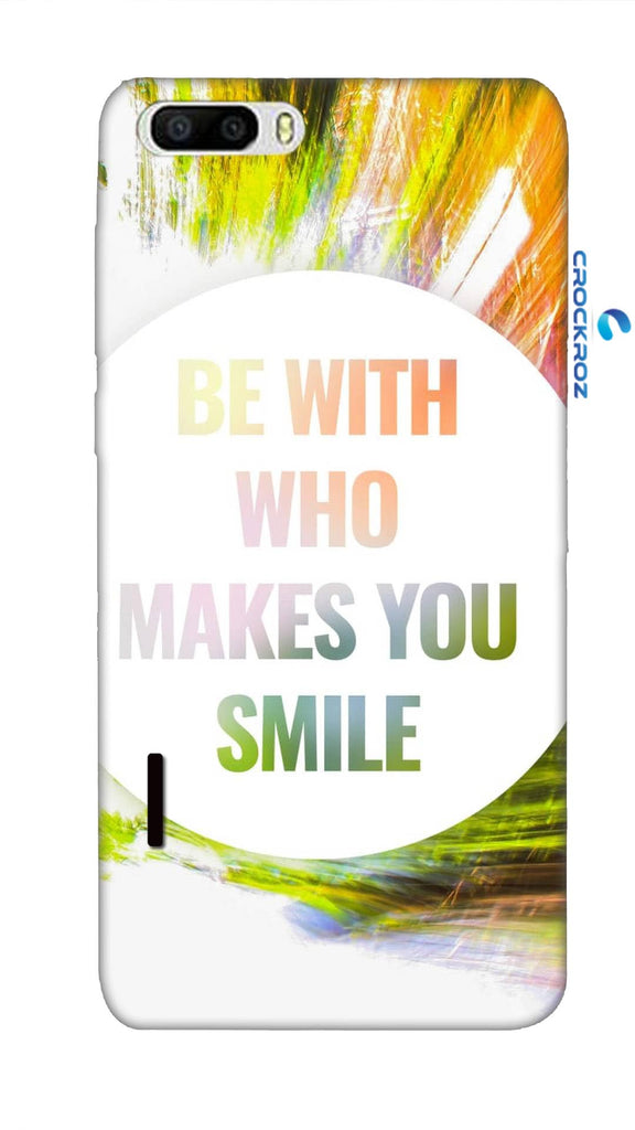 Honor 6 Plus  Smile Designed Back Cover
