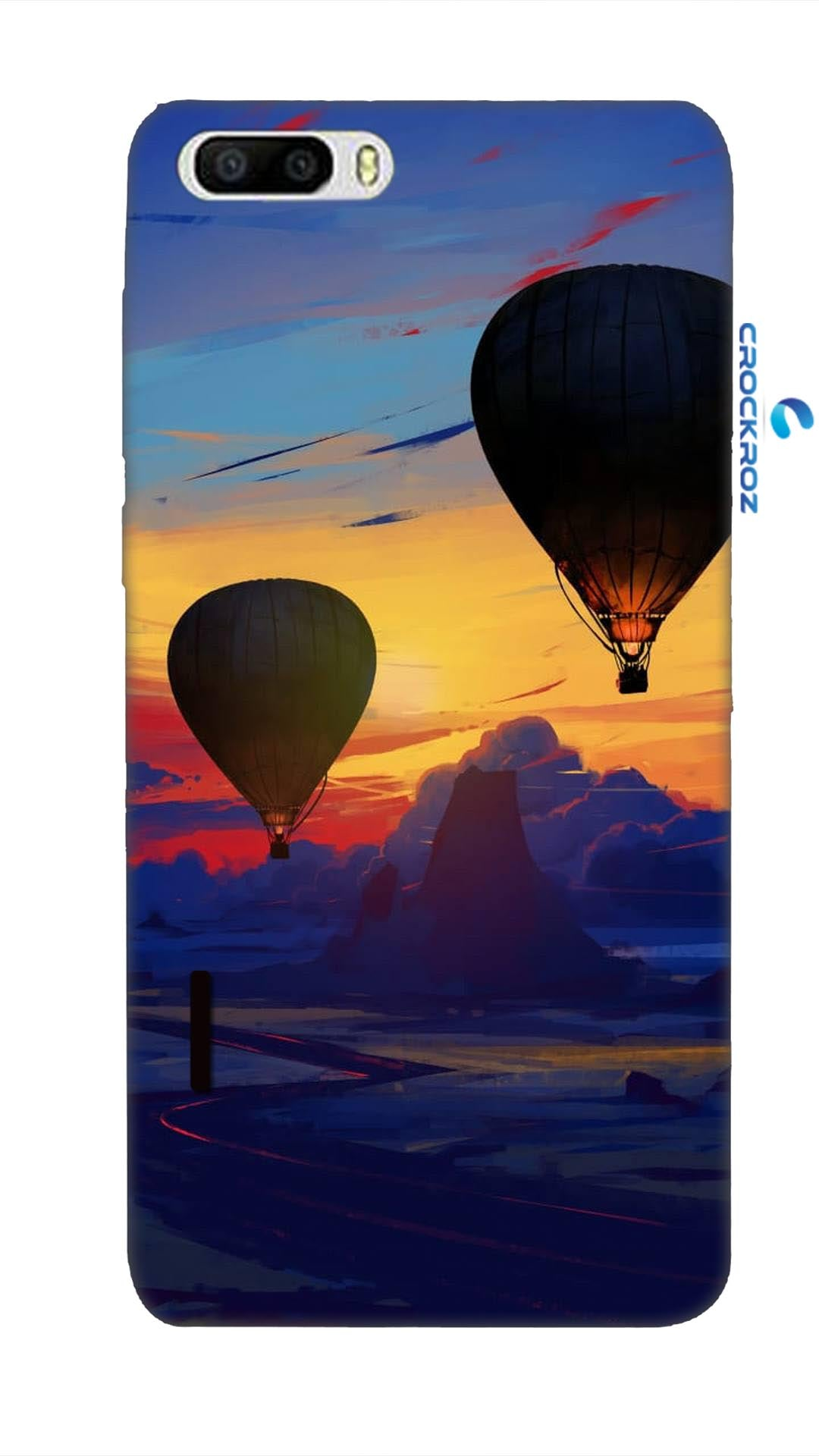 Honor 6 Plus Parachute Designed Back Cover