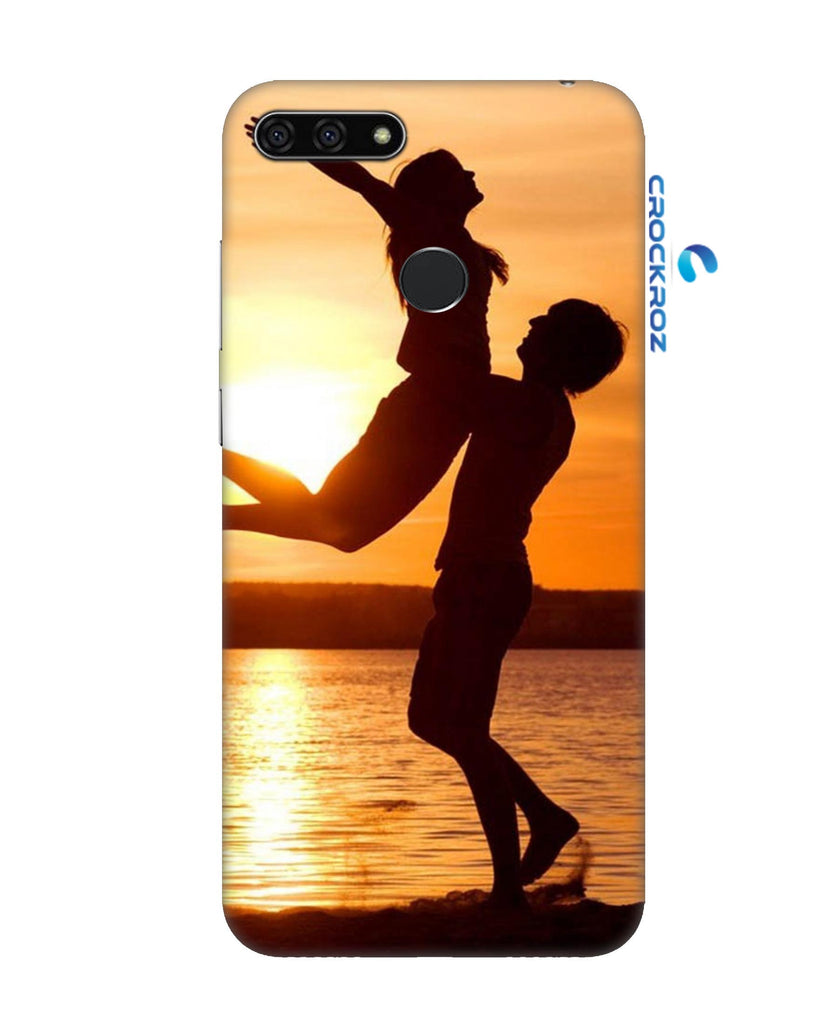 Honor 7A Love symbol Designed Back Cover