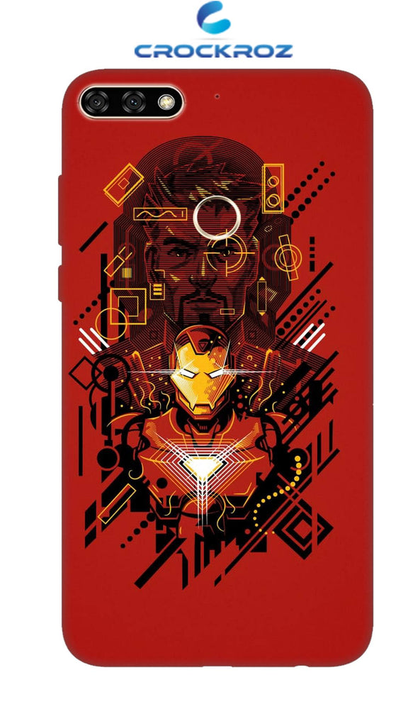 Honor 7C Avenger Designed Back Cover