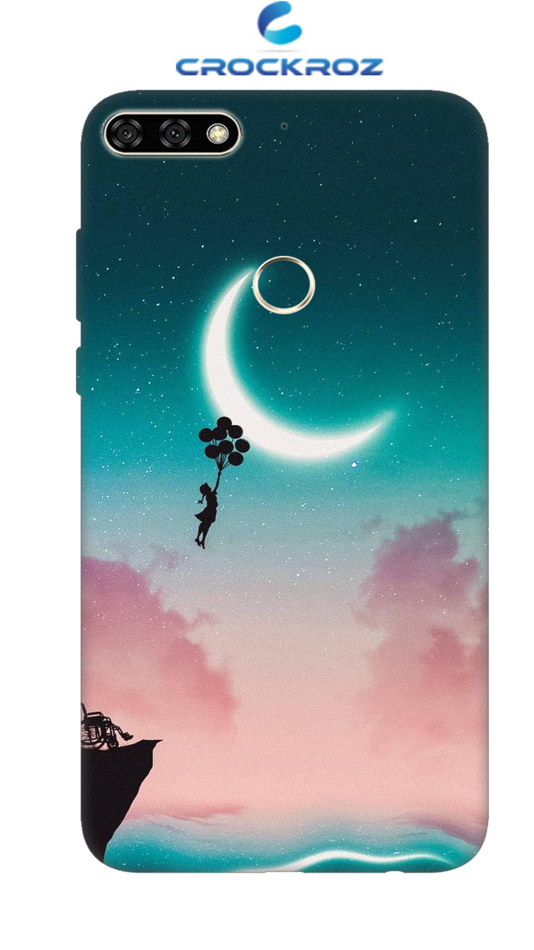 Honor 7C Moony dreams Designed Back Cover
