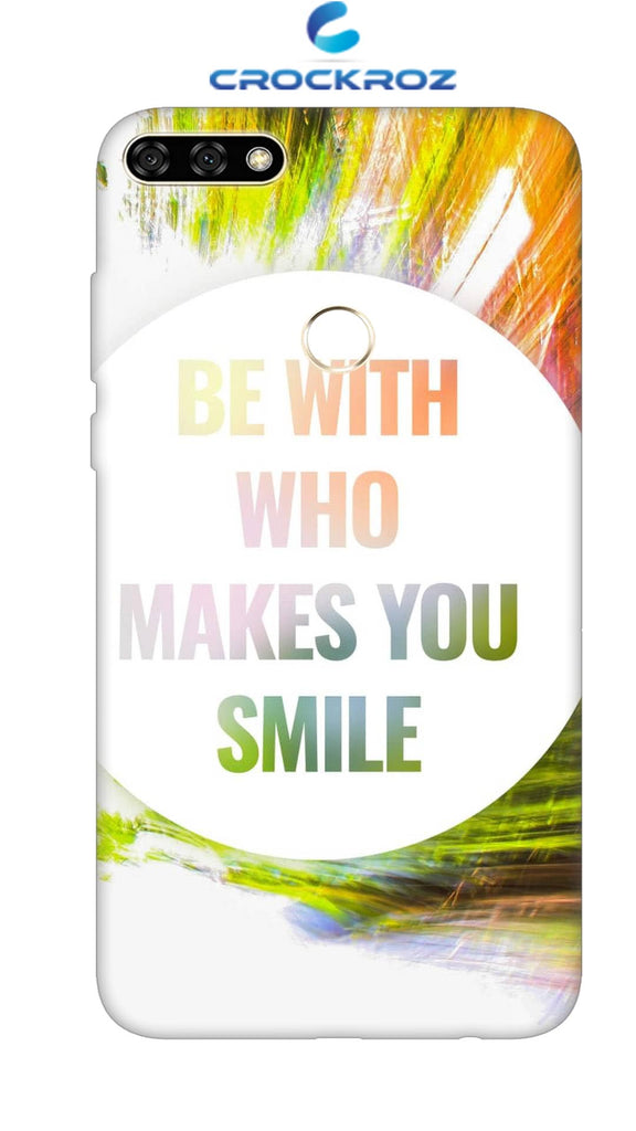 Honor 7C Smile Designed Back Cover