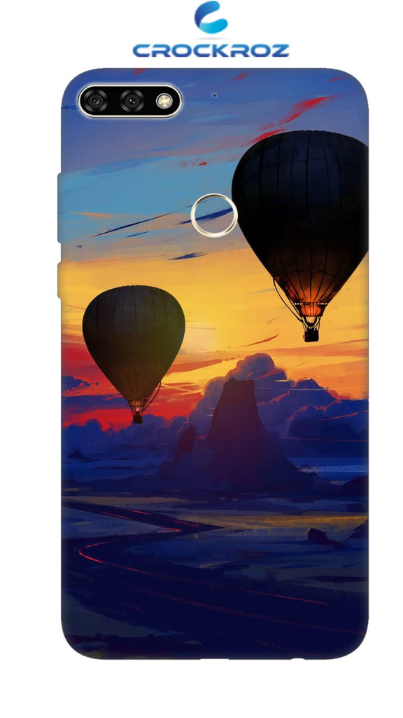 Honor 7C Parachute Designed Back Cover