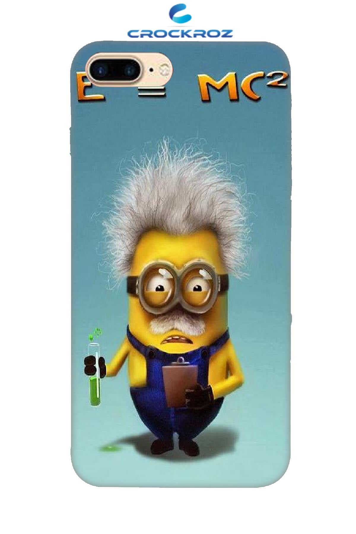 iPhone8 Plus minions Designed Back Cover