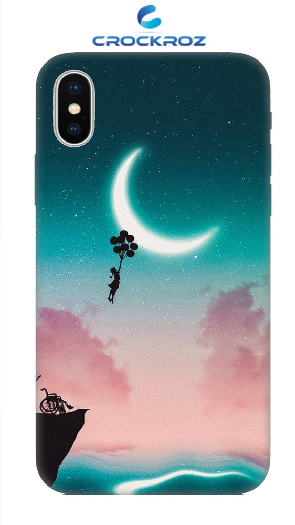 iPhone X Moony dreams Designed Back Cover