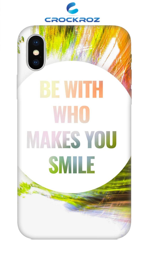 iPhone X Smile Designed Back Cover