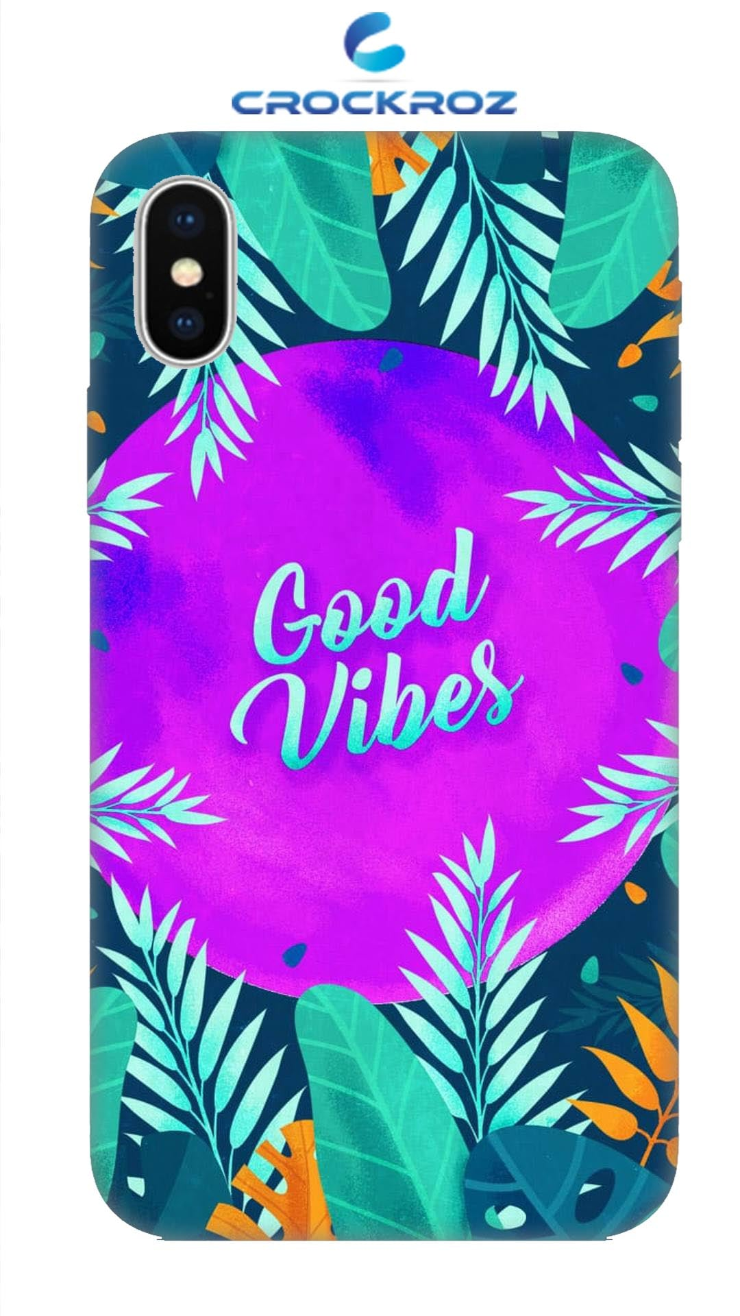 iPhone X Vibes Designed Back Cover