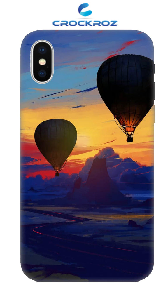 iPhone X Parachute Designed Back Cover
