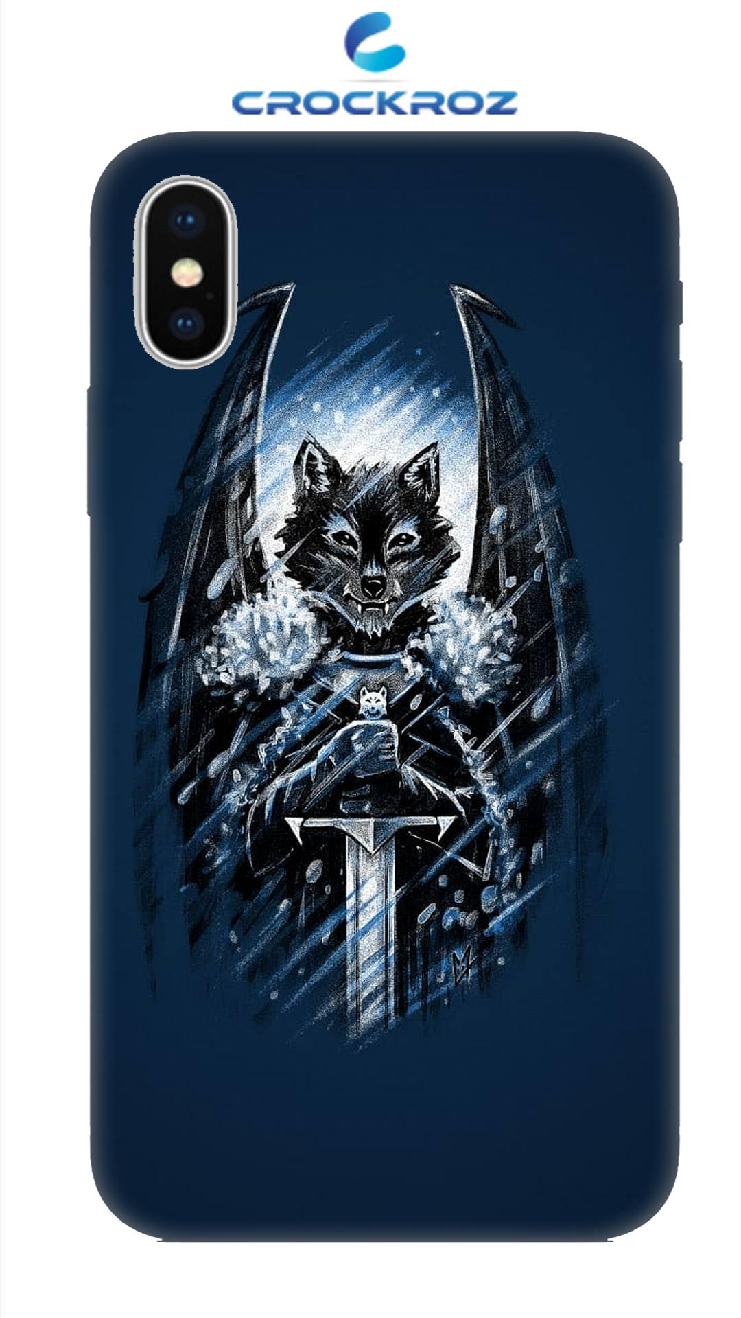 iPhone X Foxy   Designed Back Cover