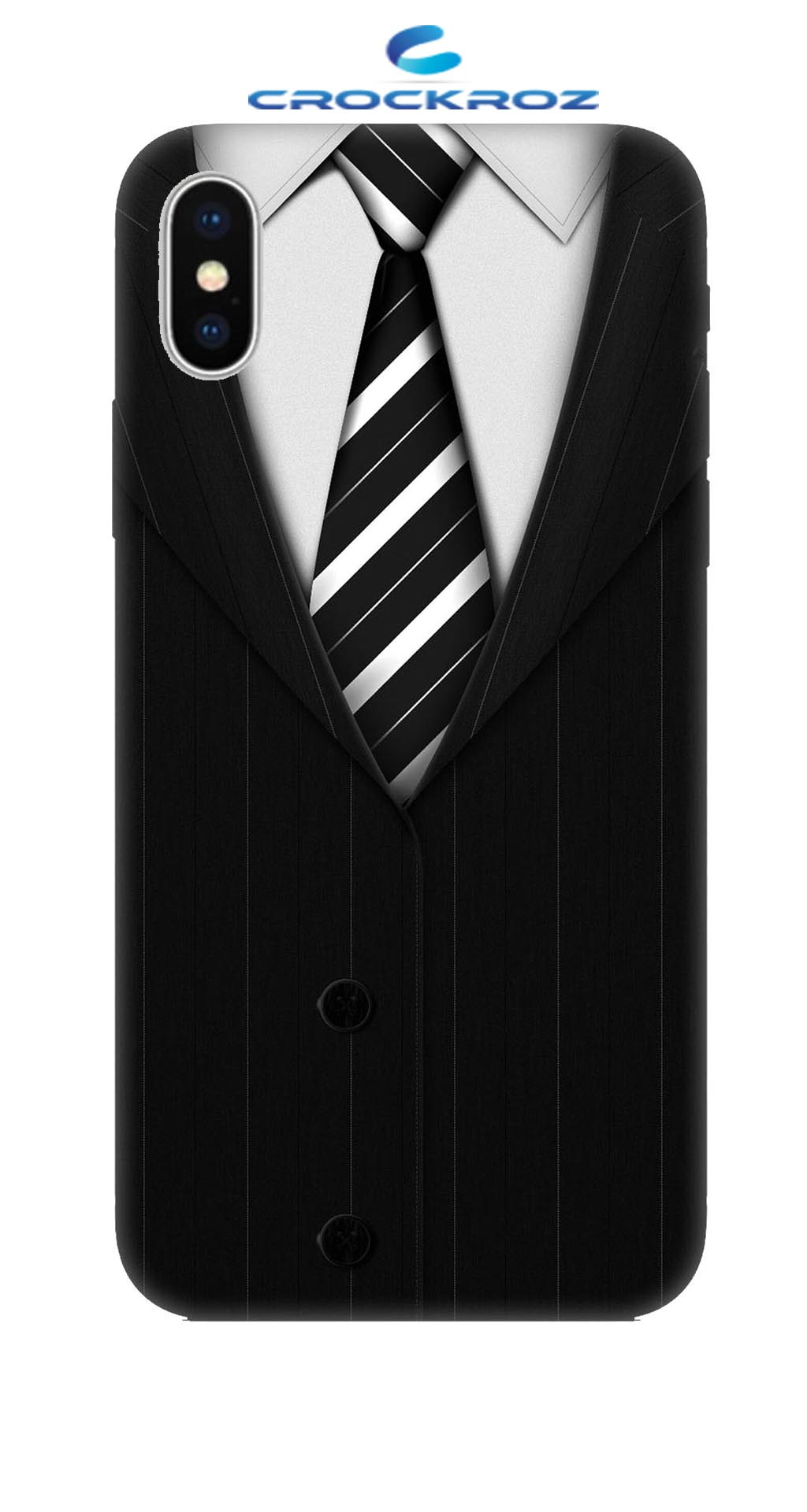 iPhone X Attitude Designed Back Cover