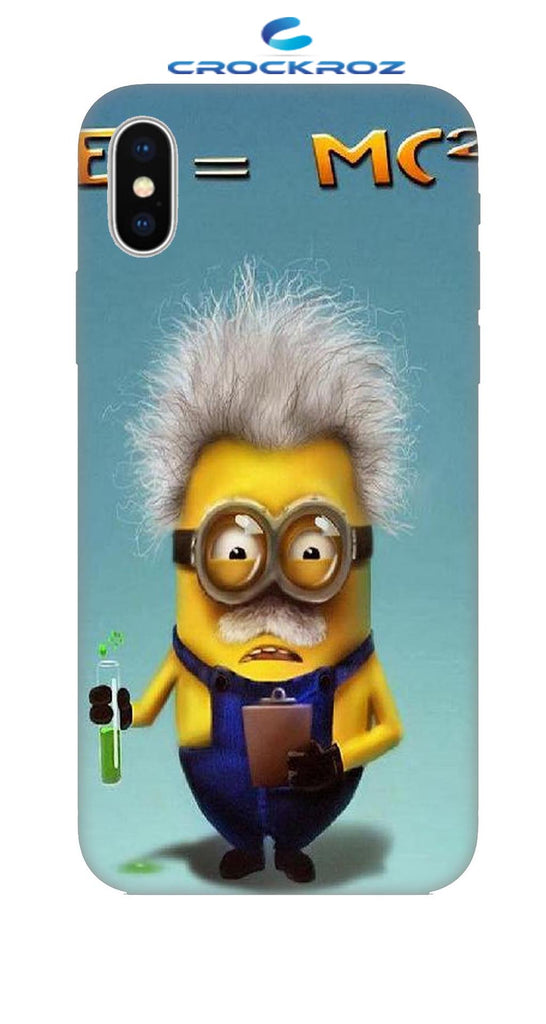 iPhone X minions Designed Back Cover