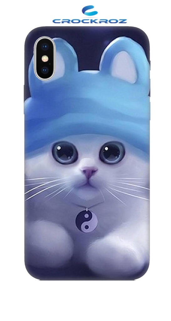 iPhone X cutie  cats Designed Back Cover
