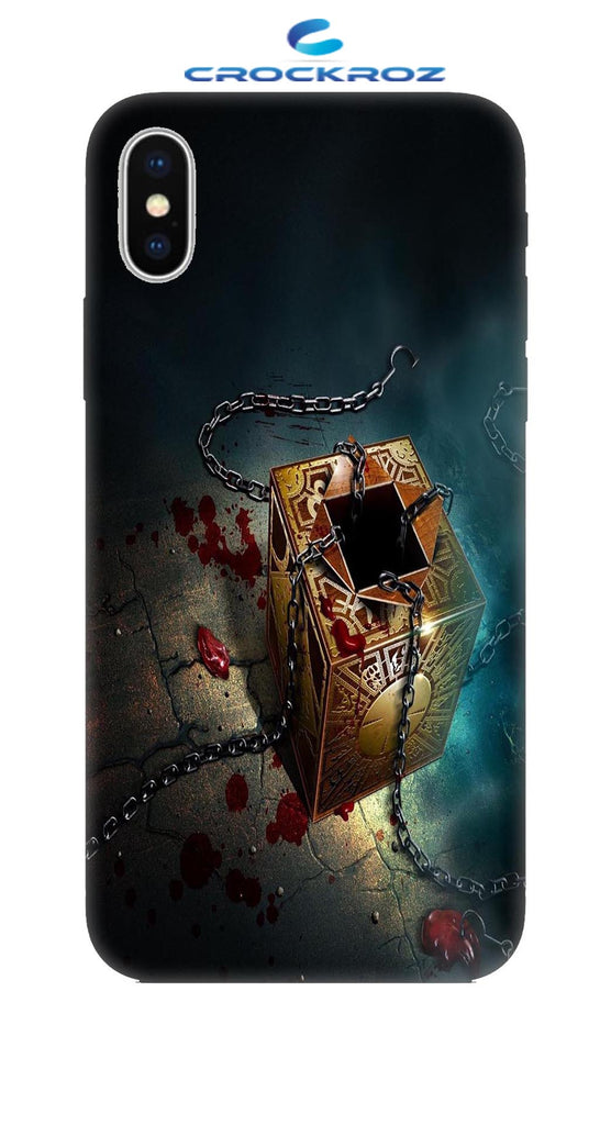 iPhone X Treasure Designed Back Cover