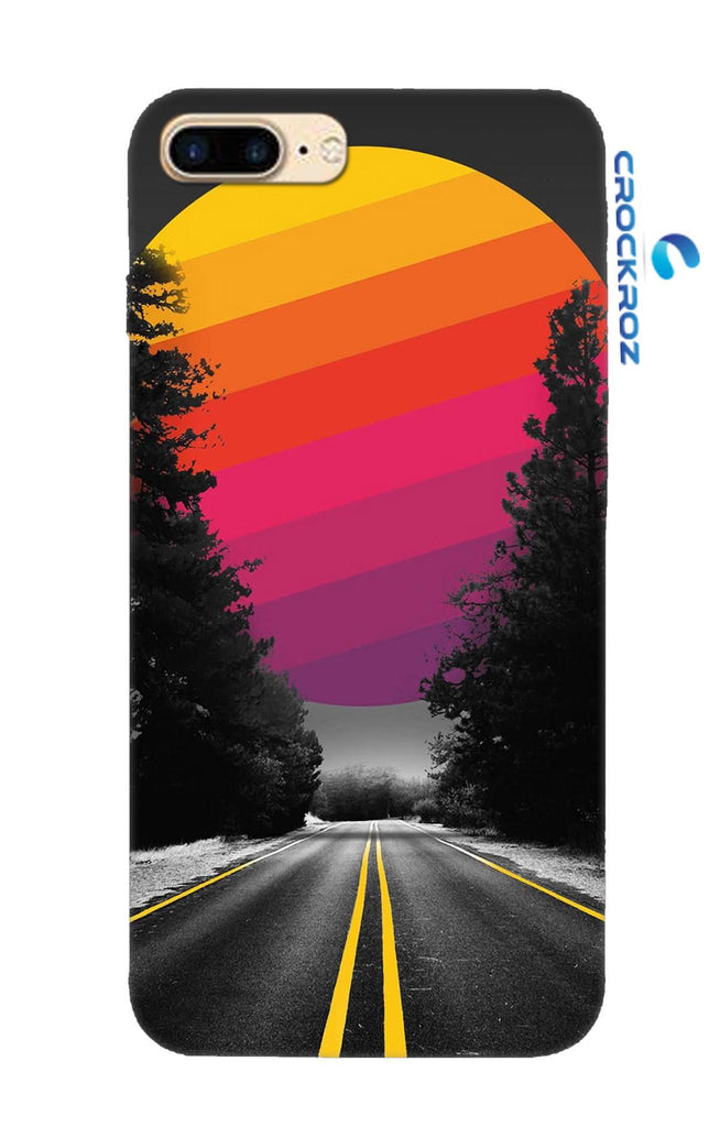 iPhone7 Plus Lonely roads Designed Back Cover